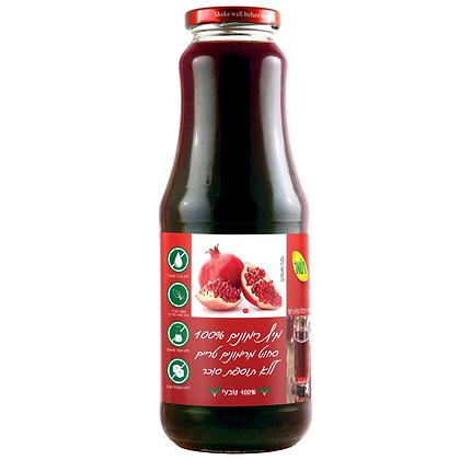 מיץ רימונים 100% טבעי