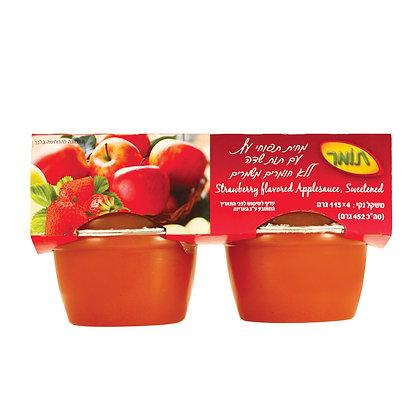 מחית תפוחי עץעם תות שדה
