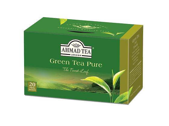 תה ירוק  20 שקיות PURE