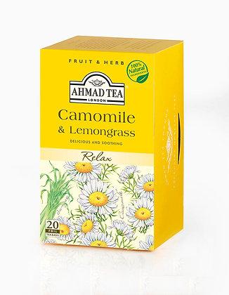תה קמומיל ולימונית 20 שקיות