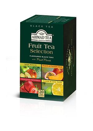 תה שחור 4 סוגי פירות 20 שקיות