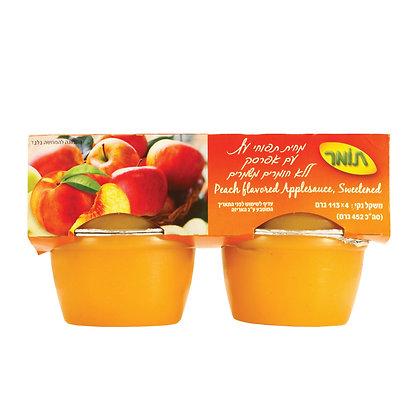 מחית תפוחי עץעם אפרסק