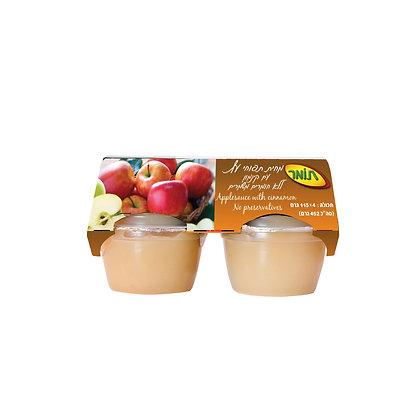 מחית תפוחי עץעם קינמון