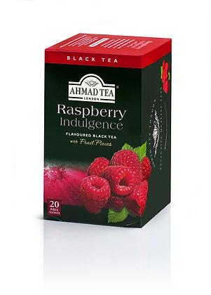 תה שחור פטל 20 שקיות
