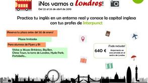 Ens anem a Londres!