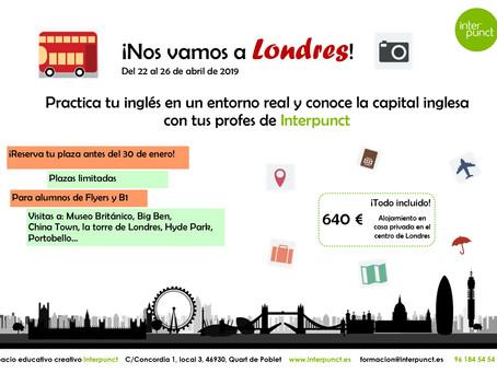 ¡Nos vamos a Londres!
