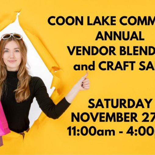 Annual Vendor Blender & Craft Sale