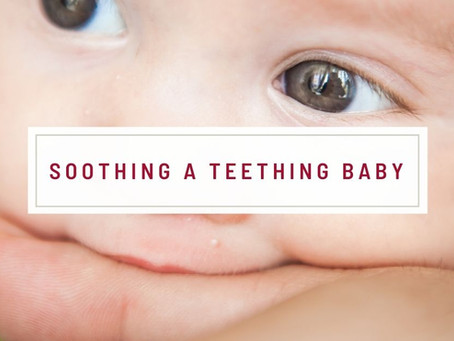 Soothing A Teething Baby
