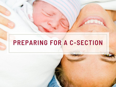 Preparing For A C-Section