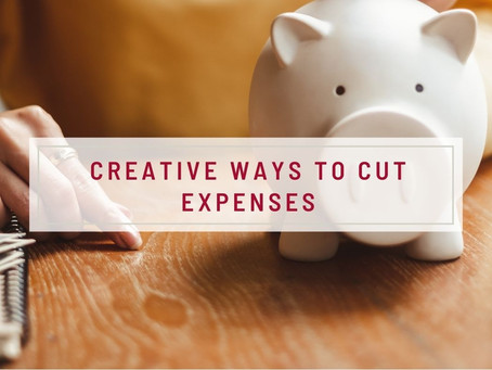 Creative Ways To Cut Expenses
