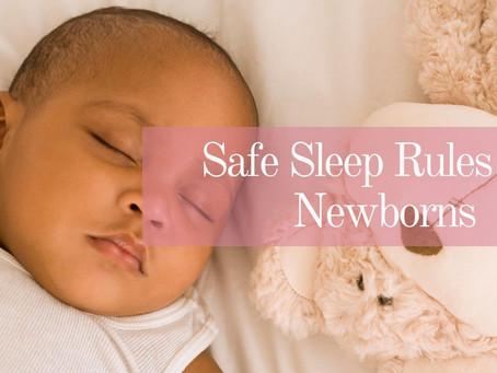 Safe Sleep Rules For Newborns