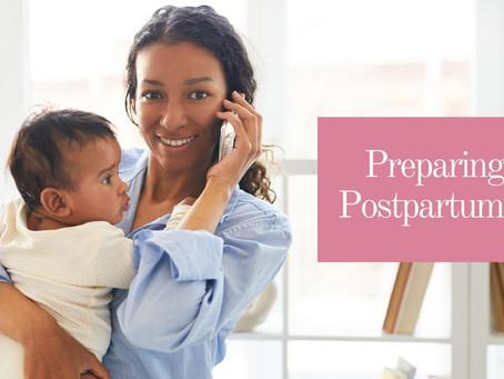 Preparing for Post-Partum Care