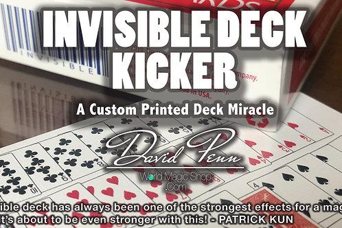 INVISIBLE DECK KICKER by DAVID PENN & A FREE DVD