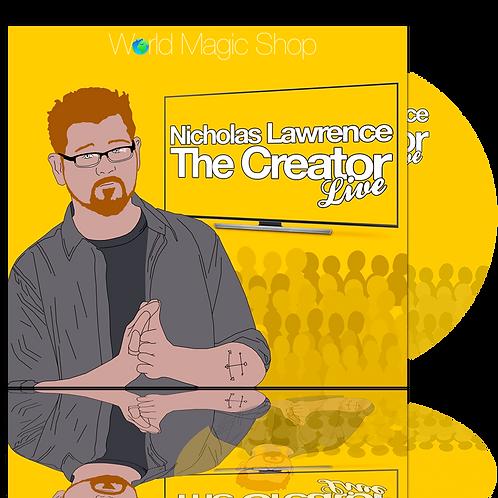 Nicholas Lawrence - The Creator LIVE!