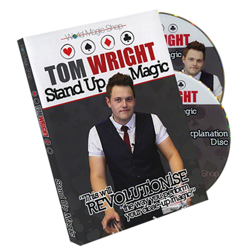 Standup Magic (2 DVD Set) by Tom Wright