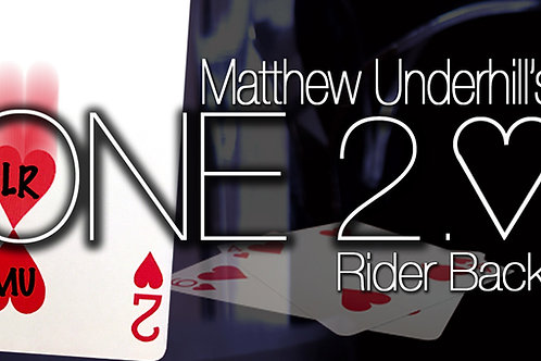 ONE by Matthew Underhill (Red Rider Back - 2 of Hearts)