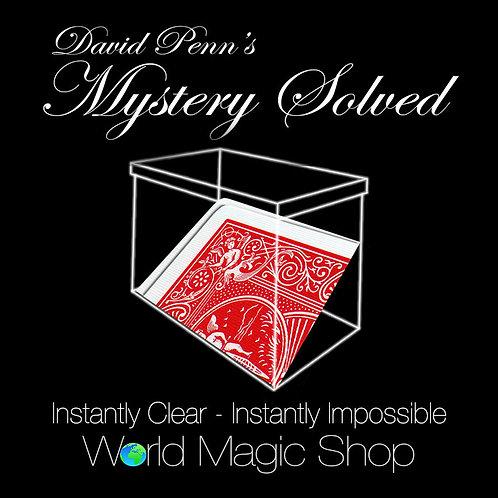 Mystery Solved by David Penn