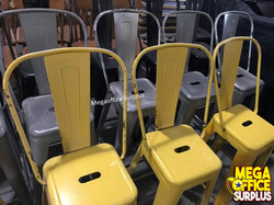 Tolix Chairs Second hand Used Megaoffice