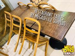 Wood Restaurant Chair Furniture