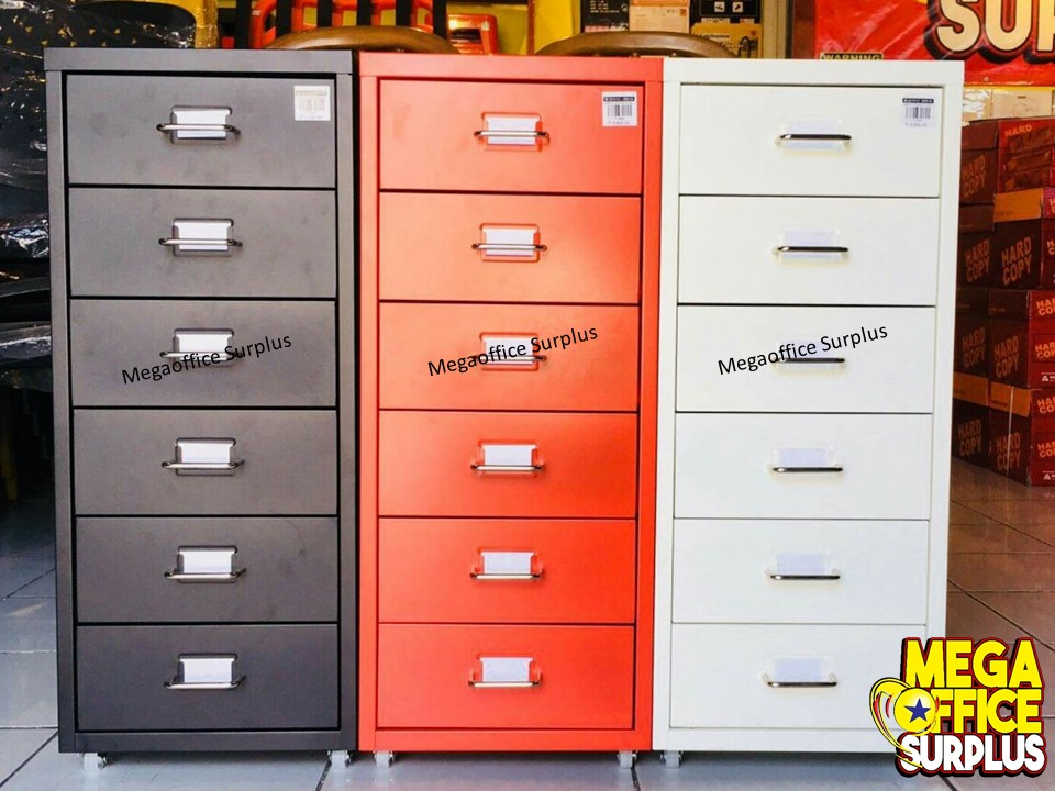 Steel Cabinet Megaoffice Colorful