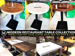 Restaurant Table Supplier Megaoffice