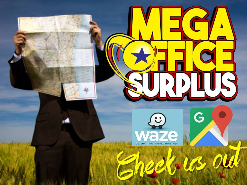 Megaoffice in Waze and Google Map