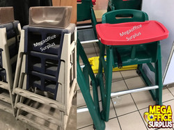 Plastic High Chair Supplier Megaoffice Surplus
