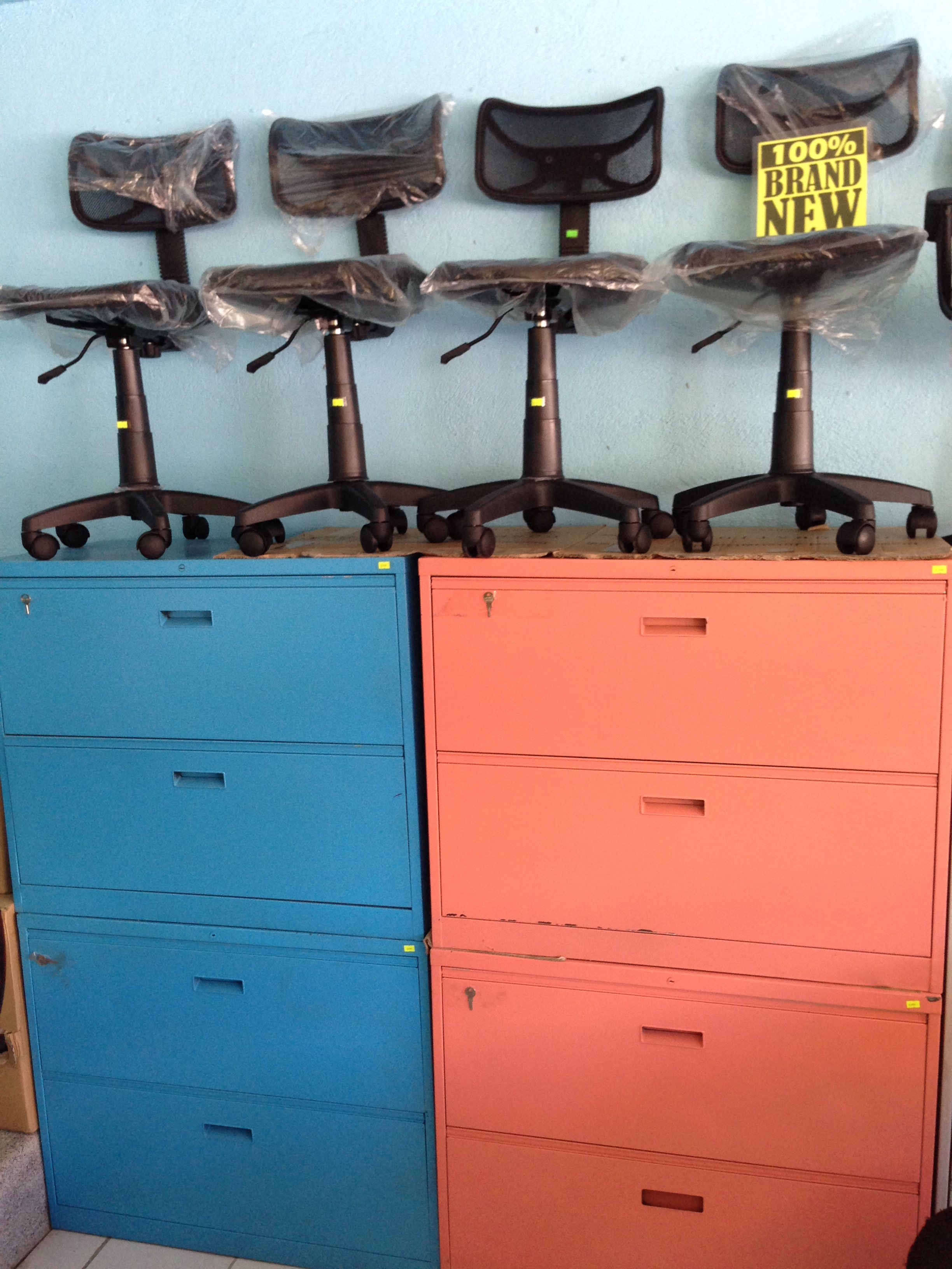 Color Used Steel Cabinet Megaoffice