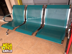 3 Seater Steel Gang Chairs Megaoffice Su