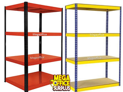 Colorful Steel Racking Shelf Megaoffice Philippines