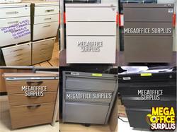 Mobile Pedestal Cabinet Megaoffice Surpl