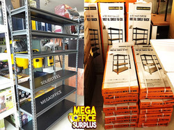 Megaoffice Surplus Rack Steel