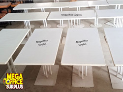 Resto Tables Surplus Second Hand Megaoffice