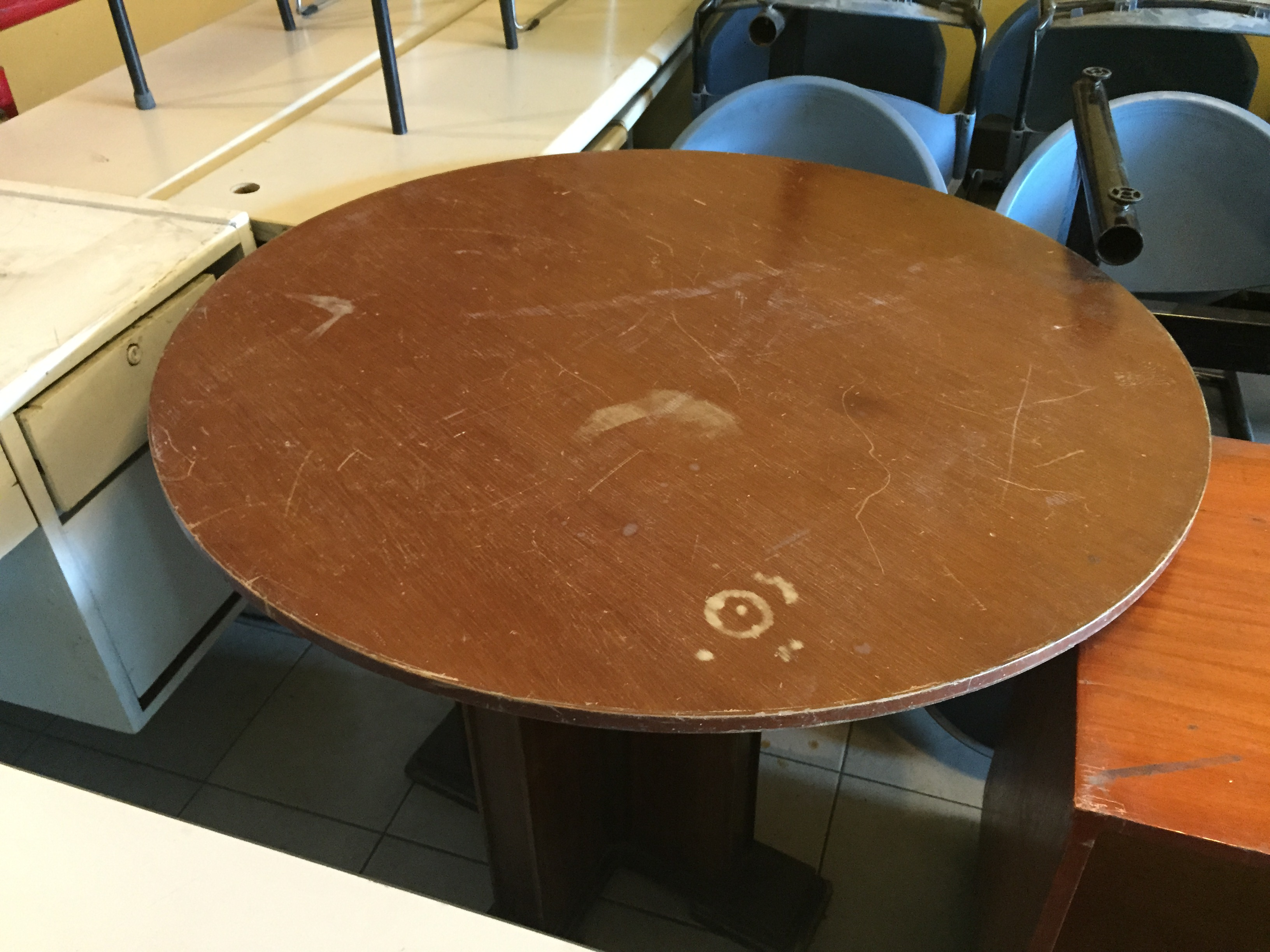 Dining Table Round Megaoffice Surplu