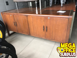 Used Wood Cabinet megaoffice