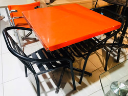 Second Hand Restaurant Table Chair