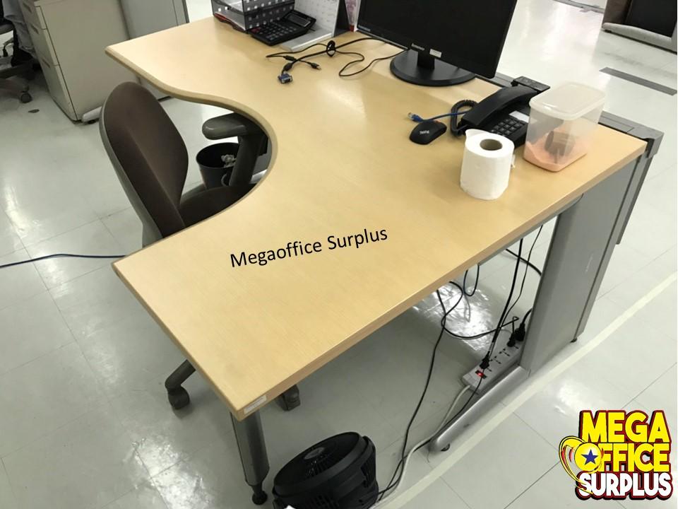 Lshape Office Table Megaoffice Surplus