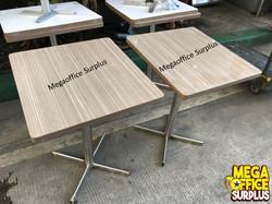 Wood Grain Restaurant Table Megaoffice