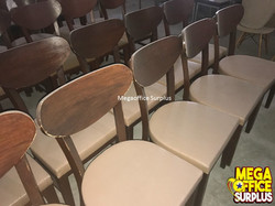 Wood Restaurant Chair Megaoffice