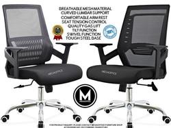 Mesh Ergo Computer Chairs Megaoffice