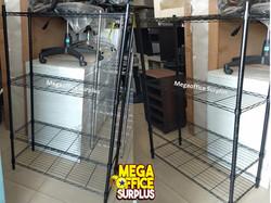 Black Open Steel Shelving Megaoffice Sur