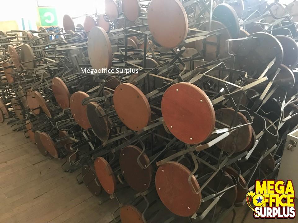 Wood Stool Restaurant Chair