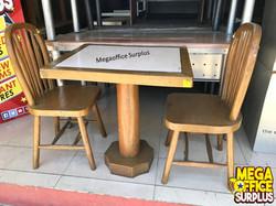 Wood Resto Furniture Megaoffice Surplus