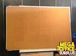 Used Cork Board White Board