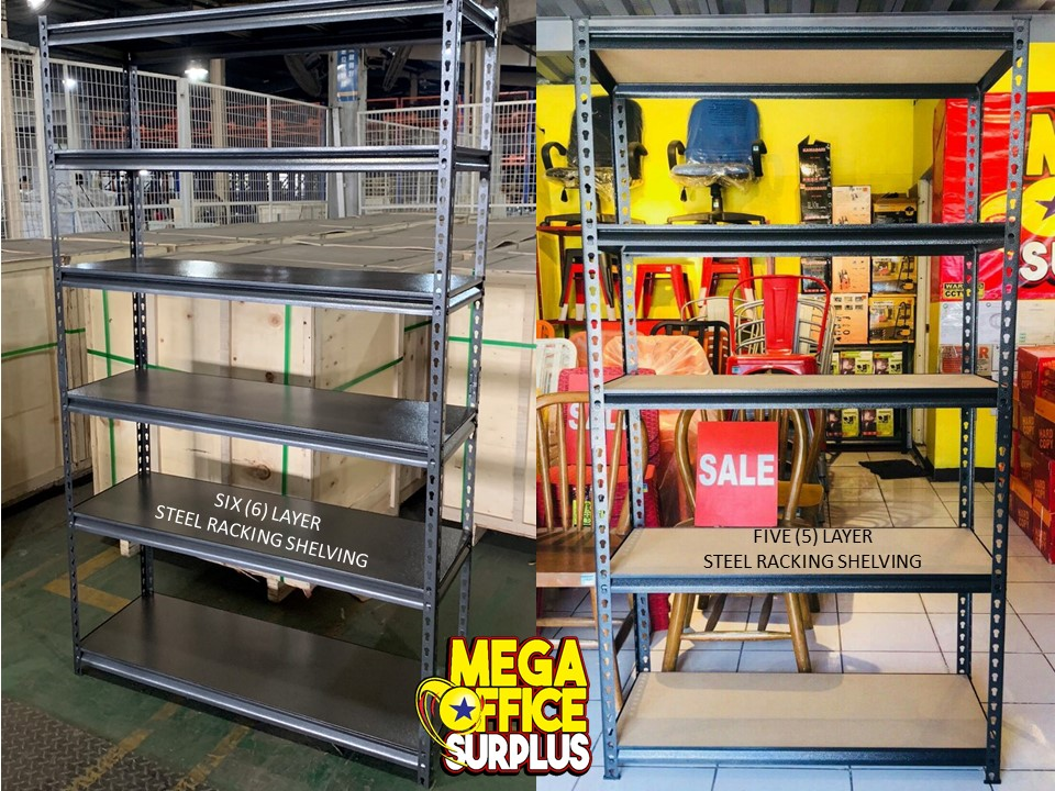 Megaoffice Steel Rack Shelf Sale