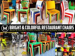 Plastic Restaurant Milk tea Chair megaoffice