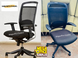 Merryfiar Mesh Executive Chairs Surplus Megaoffice