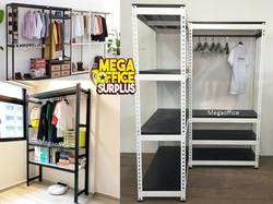 Steel Wardrobe Cabinet Shelving Megaoffice