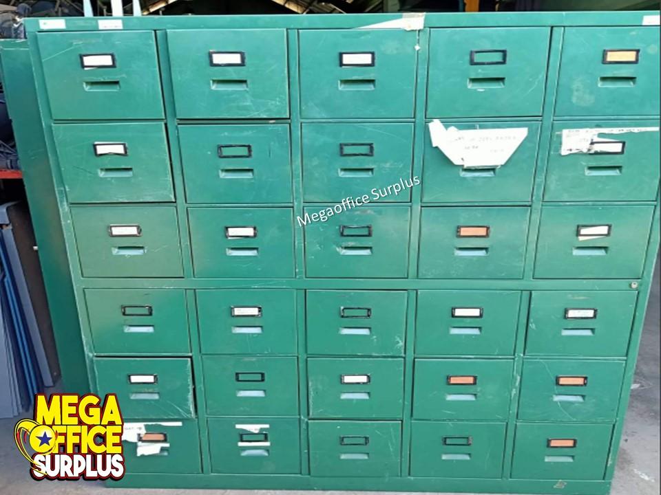 Steel Locker Steel File Cabinet Used Surplus Megaoffice
