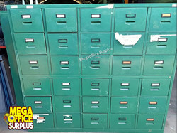 Steel Locker Steel File Cabinet Used Surplus Megaoffice